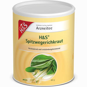 Abbildung von H&s Spitzwegerichkraut (loser Tee) Tee 60 g