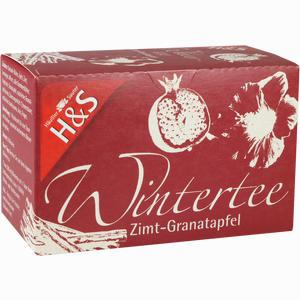 Abbildung von H&s Wintertee Zimt- Granatapfel Filterbeutel 20 Stück