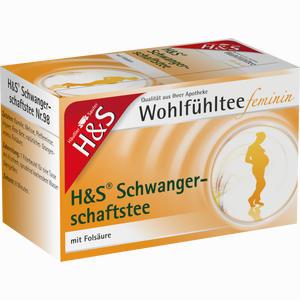 Abbildung von H&s Wohlfühltee Feminin Schwangerschaftstee Filterbeutel 20 Stück