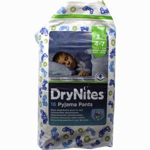 Abbildung von Huggies Dry Nites Jungen 4- 7jahre 16 Stück