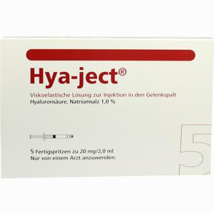 Abbildung von Hya- Ject Fertigspritze 5 Stück