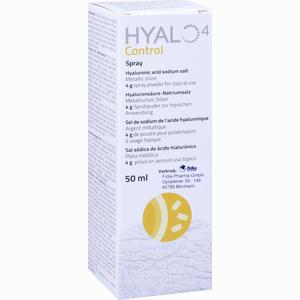 Abbildung von Hyalo 4 Control Spray  50 ml