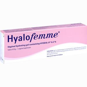 Abbildung von Hyalofemme Vaginal Gel Vaginalgel 30 g