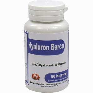 Abbildung von Hyaluron Berco Injuv Kapseln 60 Stück