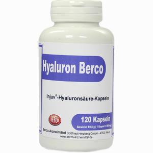 Abbildung von Hyaluron Berco Injuv Kapseln 120 Stück