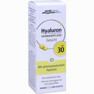 Abbildung von Hyaluron Sonnenpflege Gesicht Lsf 30 Creme 50 ml