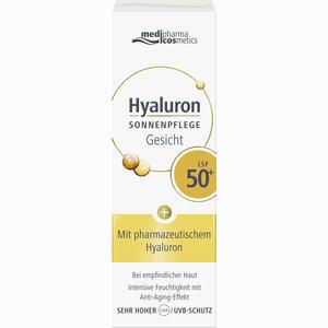 Abbildung von Hyaluron Sonnenpflege Gesicht Lsf 50+ Creme 50 ml