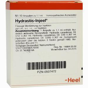 Abbildung von Hydrastis- Injeel Ampullen  10 Stück