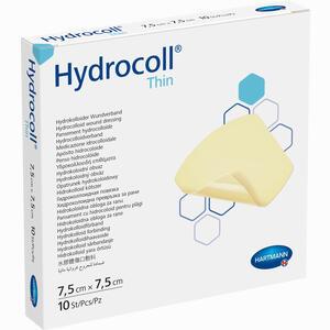 Abbildung von Hydrocoll Thin 7,5x7,5cm Hydrokolloidverband 10 Stück