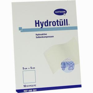 Abbildung von Hydrotüll Hydroaktive Salbenkompressen 5x5cm  10 Stück