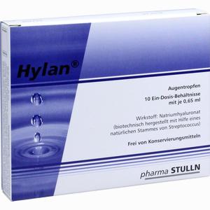 Abbildung von Hylan 0.65ml Augentropfen 10 Stück