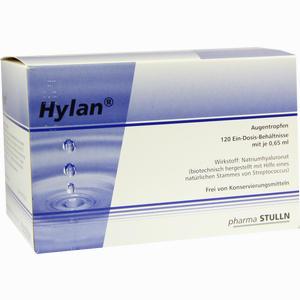 Abbildung von Hylan 0.65ml Augentropfen 120 Stück