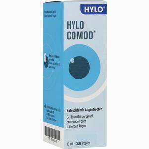 Abbildung von Hylo- Comod Augentropfen 10 ml