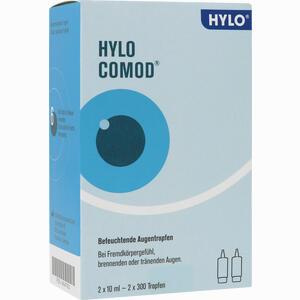 Abbildung von Hylo- Comod Augentropfen 2 x 10 ml
