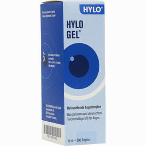 Abbildung von Hylo- Gel Augentropfen 10 ml