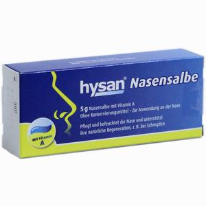 Abbildung von Hysan Nasensalbe  Ursapharm 5 g