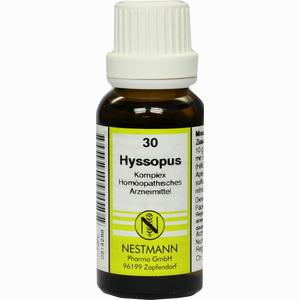 Abbildung von Hyssopus Kompl Nestm 30 Dilution 20 ml