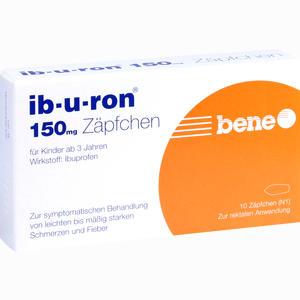 Abbildung von Ib- U- Ron 150mg Zäpfchen 10 Stück