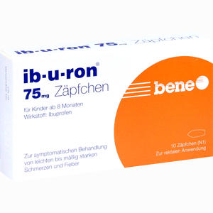 Abbildung von Ib- U- Ron 75mg Zäpfchen 10 Stück