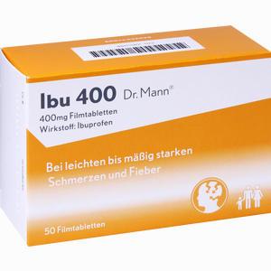 Abbildung von Ibu 400 Dr. Mann Filmtabletten 50 Stück