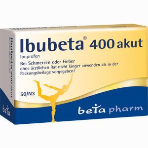 Abbildung von Ibubeta 400 Akut Filmtabletten  50 Stück