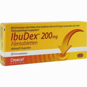 Abbildung von Ibudex 200mg Filmtabletten 20 Stück