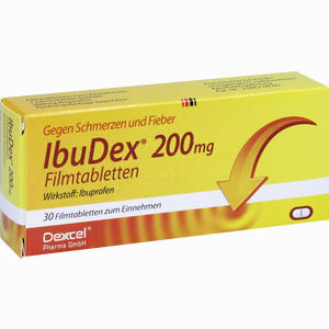 Abbildung von Ibudex 200mg Filmtabletten 30 Stück