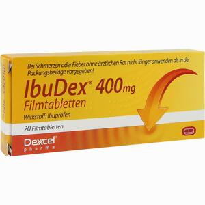 Abbildung von Ibudex 400mg Filmtabletten 20 Stück