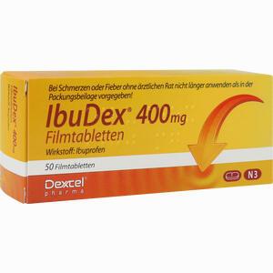 Abbildung von Ibudex 400mg Filmtabletten 50 Stück
