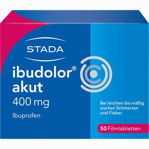 Abbildung von Ibudolor Akut 400mg Filmtabletten  50 Stück