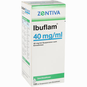 Abbildung von Ibuflam 4% Suspension  100 ml