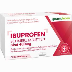 Abbildung von Ibuprofen 400 Schmerztabletten Filmtabletten 30 Stück