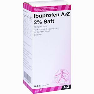 Abbildung von Ibuprofen Abz 2% Saft  100 ml