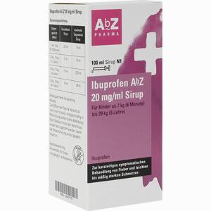 Abbildung von Ibuprofen Abz 20 Mg/ml Sirup  100 ml