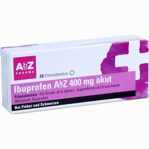 Abbildung von Ibuprofen Abz 400 Mg Akut Filmtabletten  20 Stück