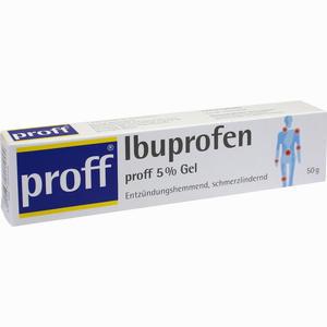 Abbildung von Ibuprofen Proff 5 % Gel Gel 50 g