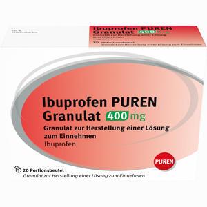 Abbildung von Ibuprofen Puren Granulat 400 Mg  20 Stück
