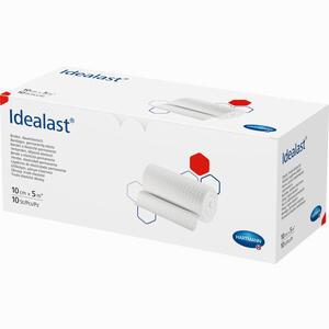 Abbildung von Idealast Weiss Ohne Verbandklammern 10cm X 5m Idealbinden  10 Stück