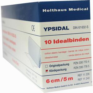 Abbildung von Idealbind Ypsidal 6cmx5m Binde 10 Stück