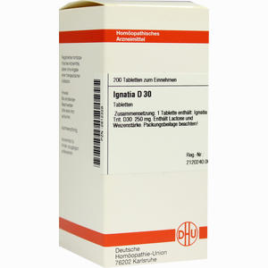 Abbildung von Ignatia D30 Tabletten 200 Stück