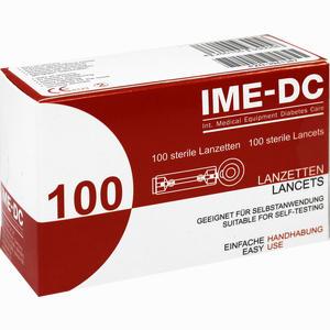 Abbildung von Ime- Dc Sterile Lanzetten  100 Stück