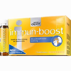 Abbildung von Immun- Boost Orthoexpert Trinkampullen 7 x 25 ml