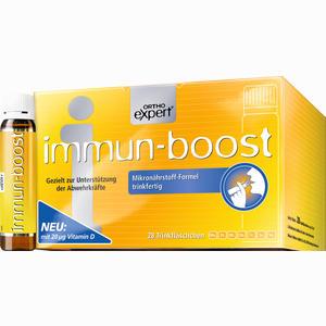 Abbildung von Immun- Boost Orthoexpert Trinkampullen 28 x 25 ml