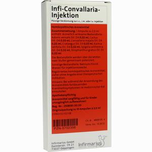 Abbildung von Infi- Convallaria- Injektion Ampullen 10 x 2 ml