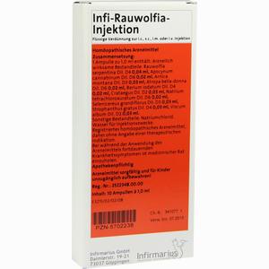 Abbildung von Infi- Rauwolfia- Injektion Ampullen 10 x 1 ml