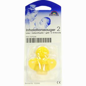 Abbildung von Inhalationssauger Kiefernorthopädisch Latex Gelb 6- 18 Monate 1 Stück