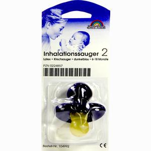 Abbildung von Inhalationssauger Kirschsauger 2 Aus Latex 6- 18 Monate Dunkelblau 1 Stück