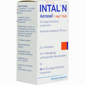 Abbildung von Intal N Aerosol Dosieraerosol 10 ml