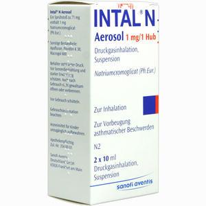 Abbildung von Intal N Dosieraerosol 2 x 10 ml