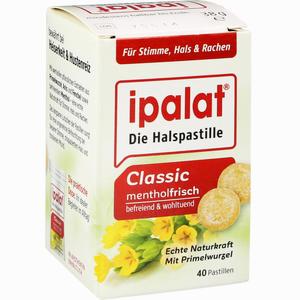 Abbildung von Ipalat Halspastillen Classic  40 Stück